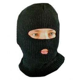 В'язана балаклава маска зимова