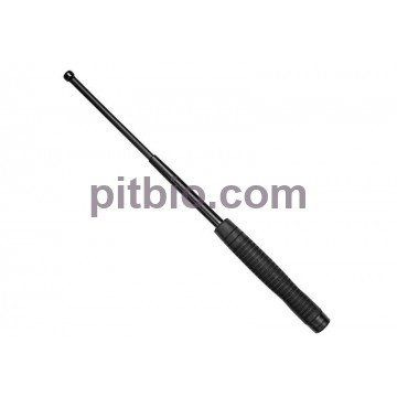 Телескопическая дубинка ESP 16 HE Black с эргономичной ручкой