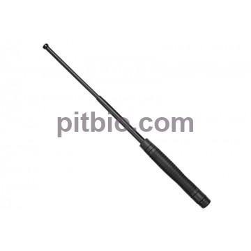 Телескопическая дубинка ESP 18 HE Black с эргономичной ручкой