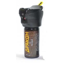 Газовый баллончик Дракон Торнадо с фонариком 65мл