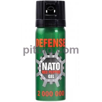 Газовый баллончик Nato Green Gel 50мл