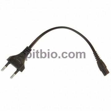 Зарядное устройство для электрошокера (сетевой кабель) двойной штекер